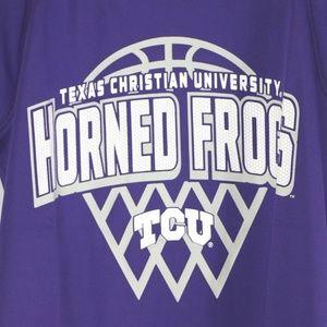 Champion Shirts & Tops - TCU Horned Frogs Boys Short Sleeve Crewneck Raglan